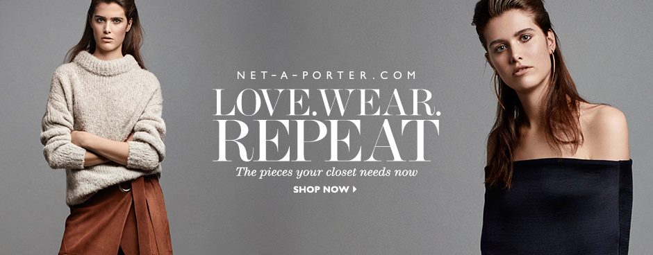 Net-A-Porter Love Wear Repeat